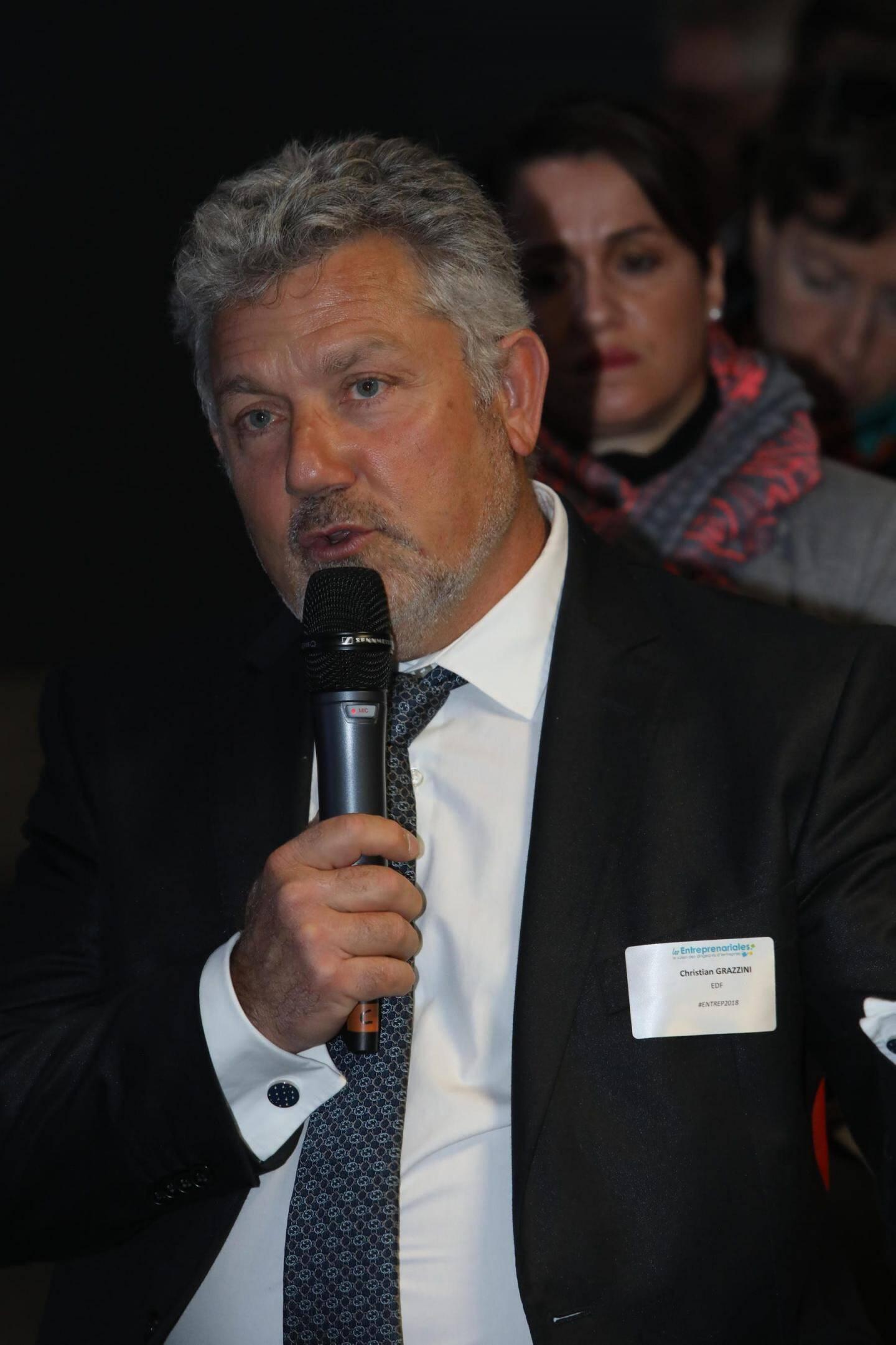Christian Grazzini, EDF.