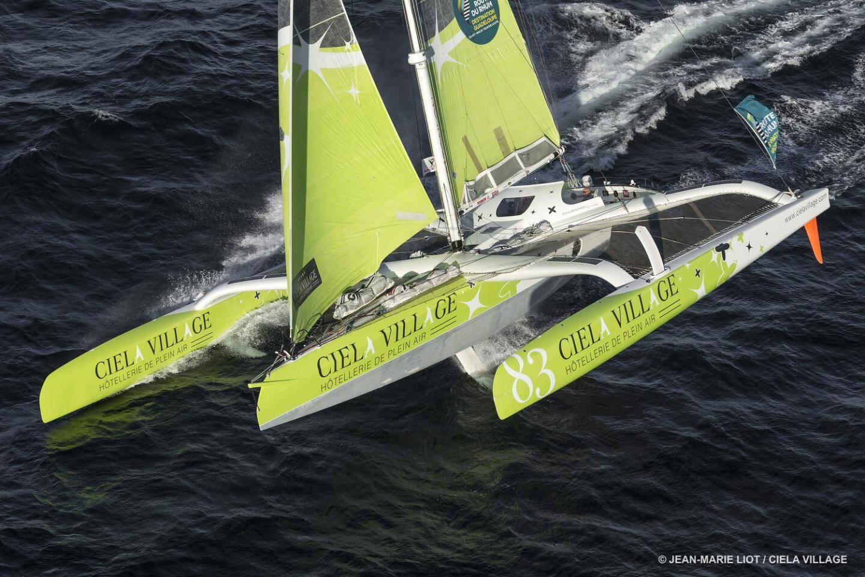 Le bateau de Thierry Bouchard.