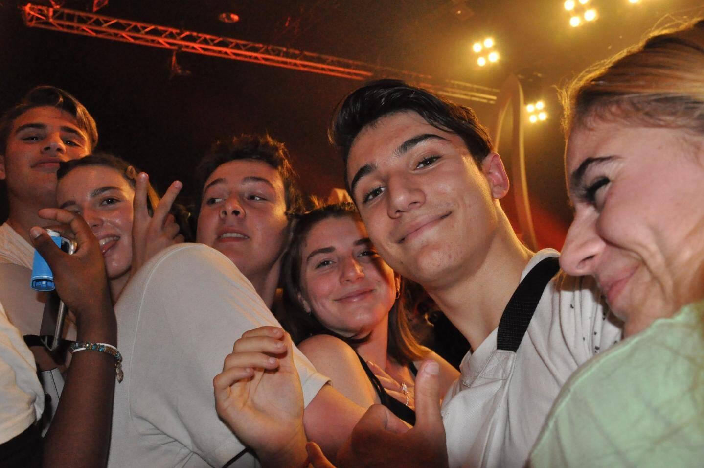 Esteban, Camille, Betty, Xavier et d'autres lycéens seynois étaient en première ligne pour le concert de Columbine.