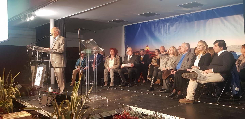 C'est entouré de ses colistiers que jean-Pierrre Tuveri s'est livré à l'exercice de la présentation de ses vœux.
