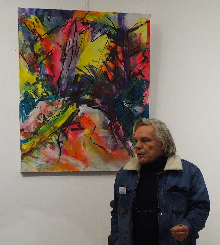 «La peinture n'intéresse plus beaucoup de monde mais je peins quand même car c'est une nécessité intérieure».