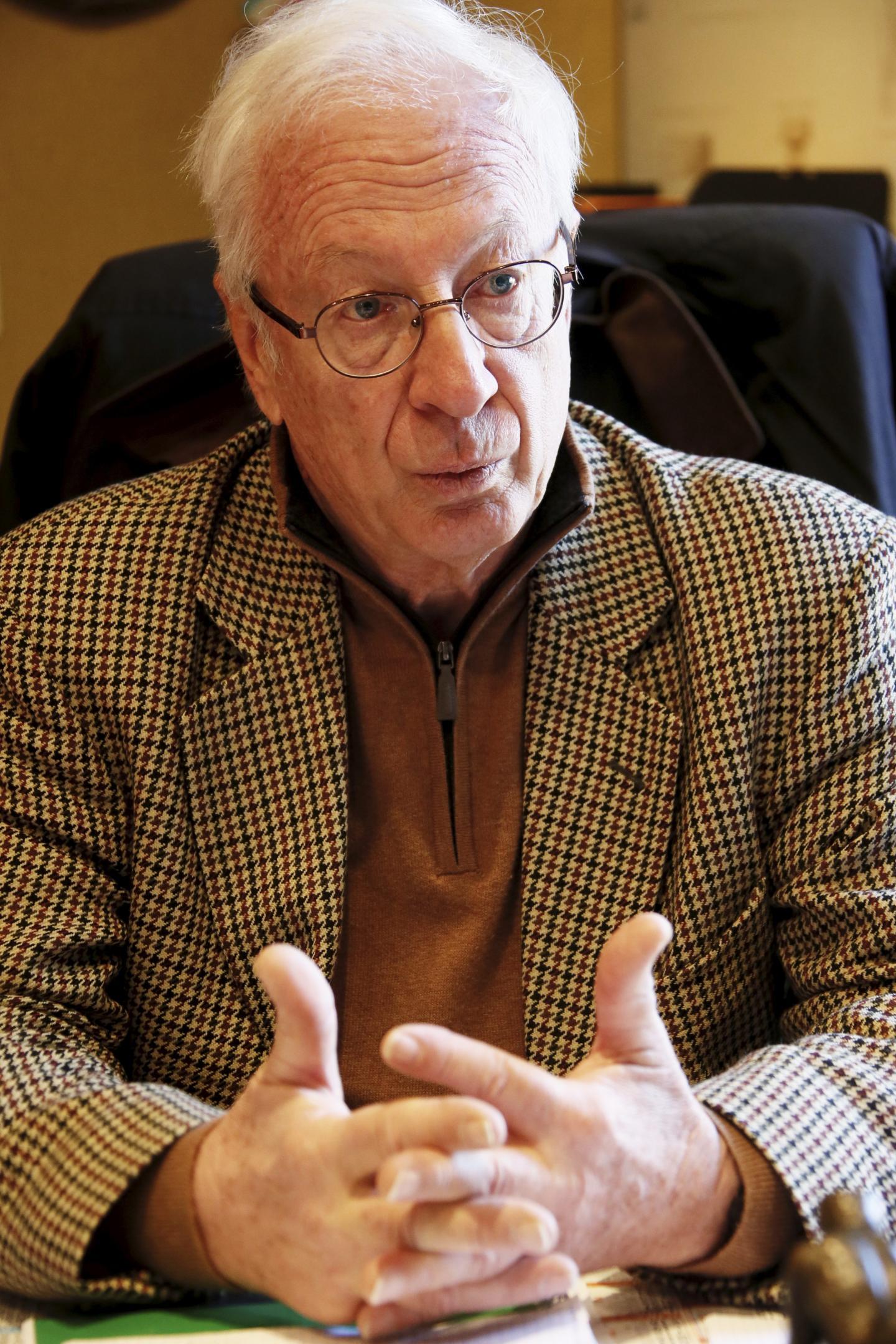 Alain Barale, maire de Comps.