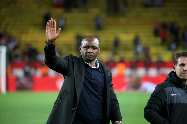 Patrick Vieira, coach de l'OGC Nice.