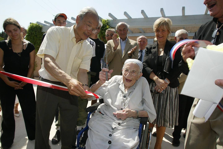 Même très âgée, elle venait à la rencontre des gens comme à La Gabelle.