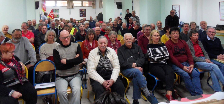 Les retraités CGT du ministère de la Défense nationale se mobilisent pour défendre la Sécurité sociale et refuser la réforme des retraites.