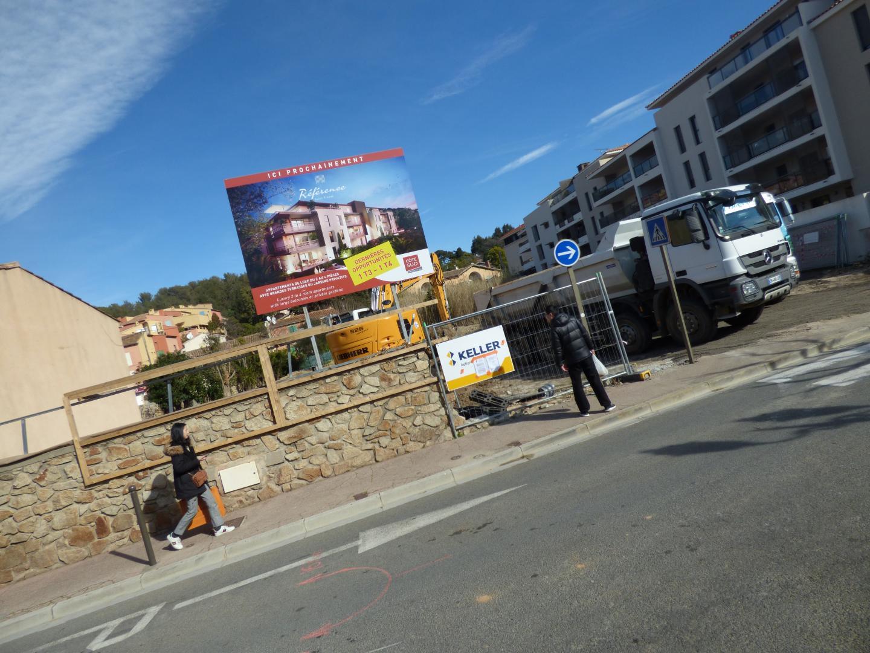 Le programme immobilier a été lancé avenue de la Résistance, la mairie n'est pas revenue sur cette modification du PLU.