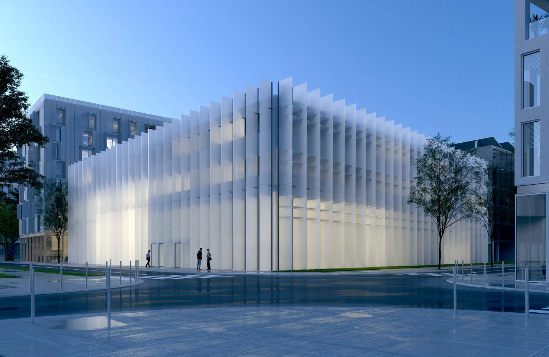 armi les projets en cours pour l'Atelier Barani, il y a l'érectionde l'école nationale supérieure de la photographie à Arles