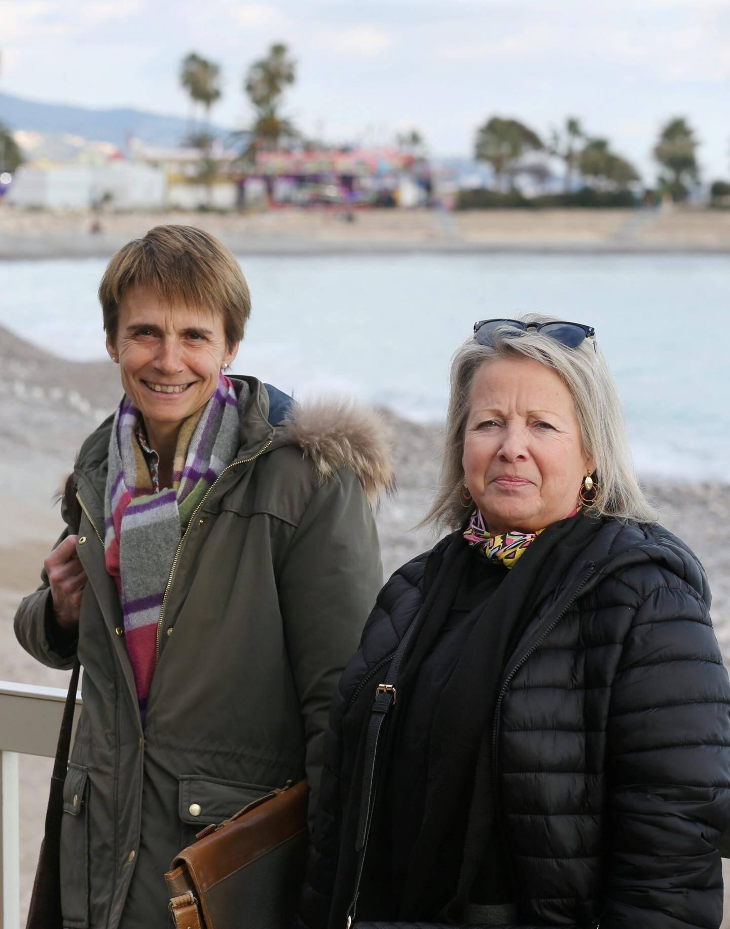 Frédérique Lorenzi et Nadine Niel.