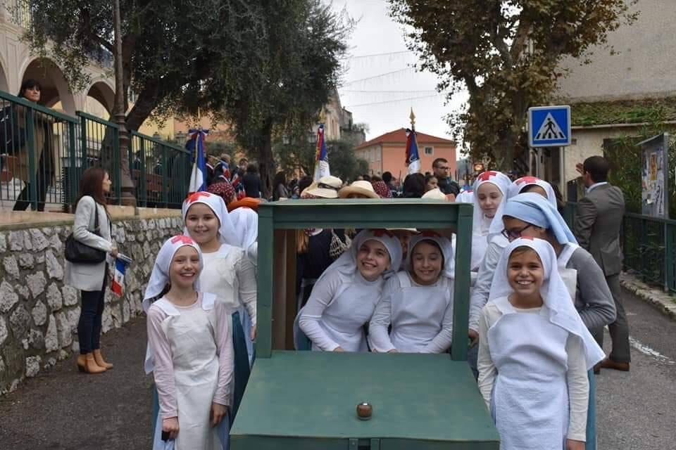 Toujours avec le Souvenir français, 350 enfants avaient participé à la commémoration du 11-Novembre.