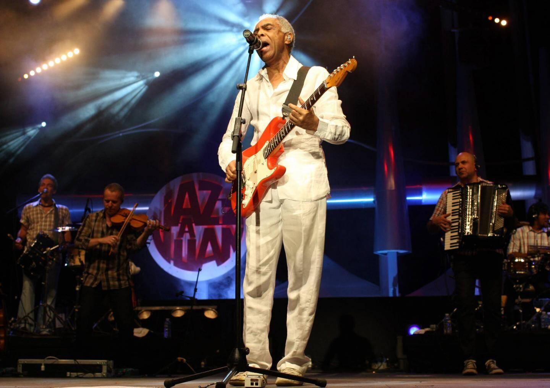 Gilberto Gil est venu à Vence en 2009 et à Juan-Les-Pins en 2011.(Photo archives Franck Fernandes