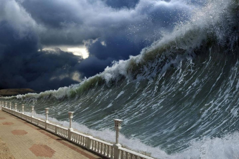 Ce n'est pas de la science fiction : un tsunami frappera un jour ou l'autre la Côte d'Azur. Il faut le savoir et s'y préparer.(Document d'illustration DR)