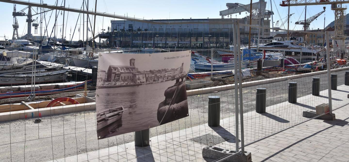 Les clichés de Garabed Garabédian s'exposent sur le Port-Vieux.