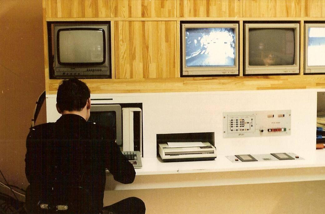 Dans les années quatre-vingt, la Ville avait déjà son propre système de vidéosurveillance.