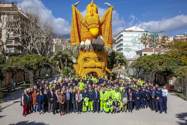 Le maire, Jean-Claude Guibal, a remercié mardi matin l'ensemble des agents et des services municipaux qui ont œuvré pendant la 86e Fête du citron.