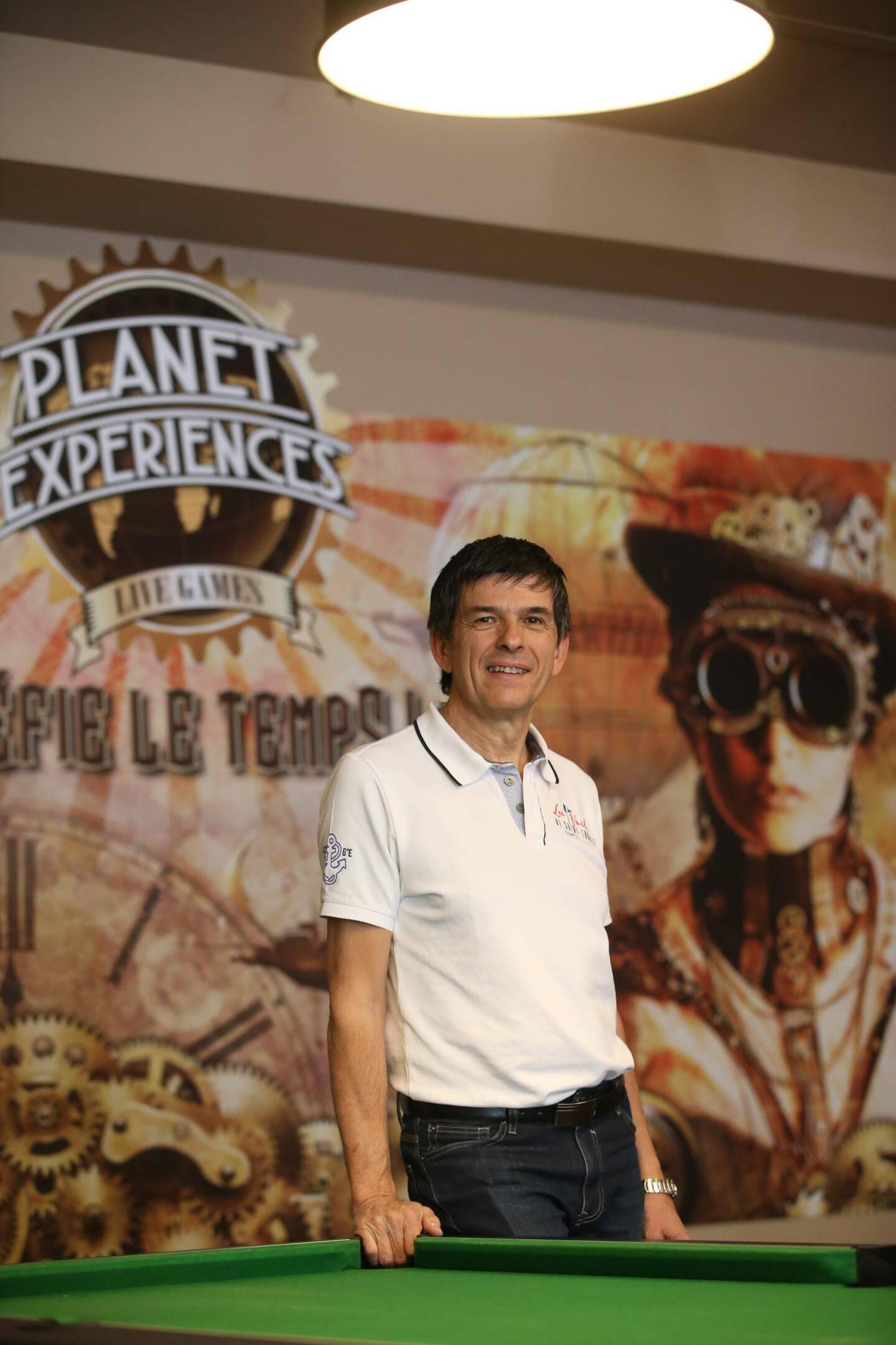 Damien Aparicio  est le créateur des escape game de Planet Experiences.