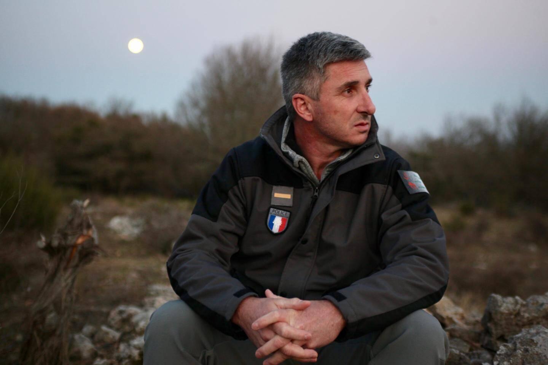 """Christophe Pisi, chef de la BMI: """"Les loups s'adaptent à tout. Donc à nous de nous adapter aussi."""""""