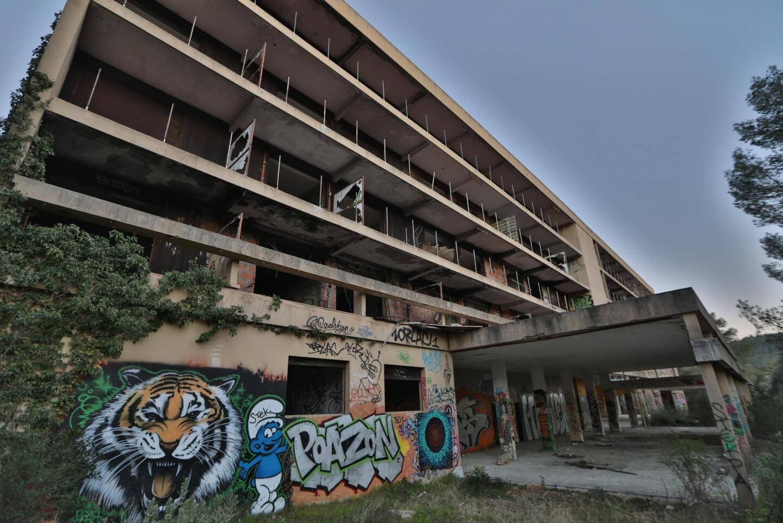 L'ancien sanatorium Felix-Zehetner est à l'abandon depuis les années 1970.