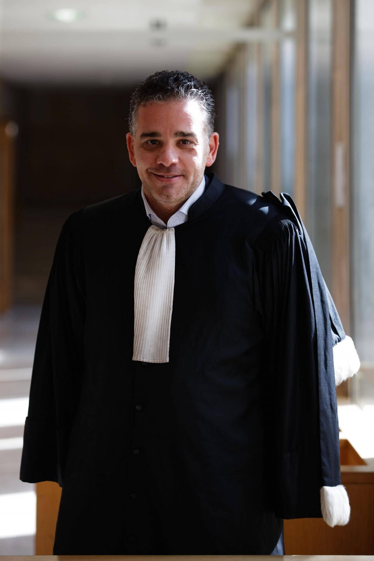 Me Romain Callen, avocat d'Henri Bartolo.