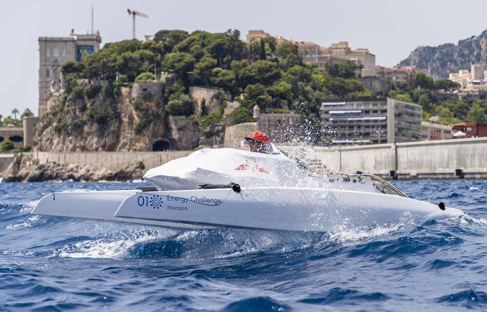 Le 6e Monaco Solar & Energy Boat Challenge a été dévoilé lors de la Monaco Ocean Week.(DR)