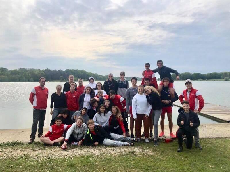 Les jeunes Monégasques se sont préparés pour une compétition internationale sur le lac de l'Uby.