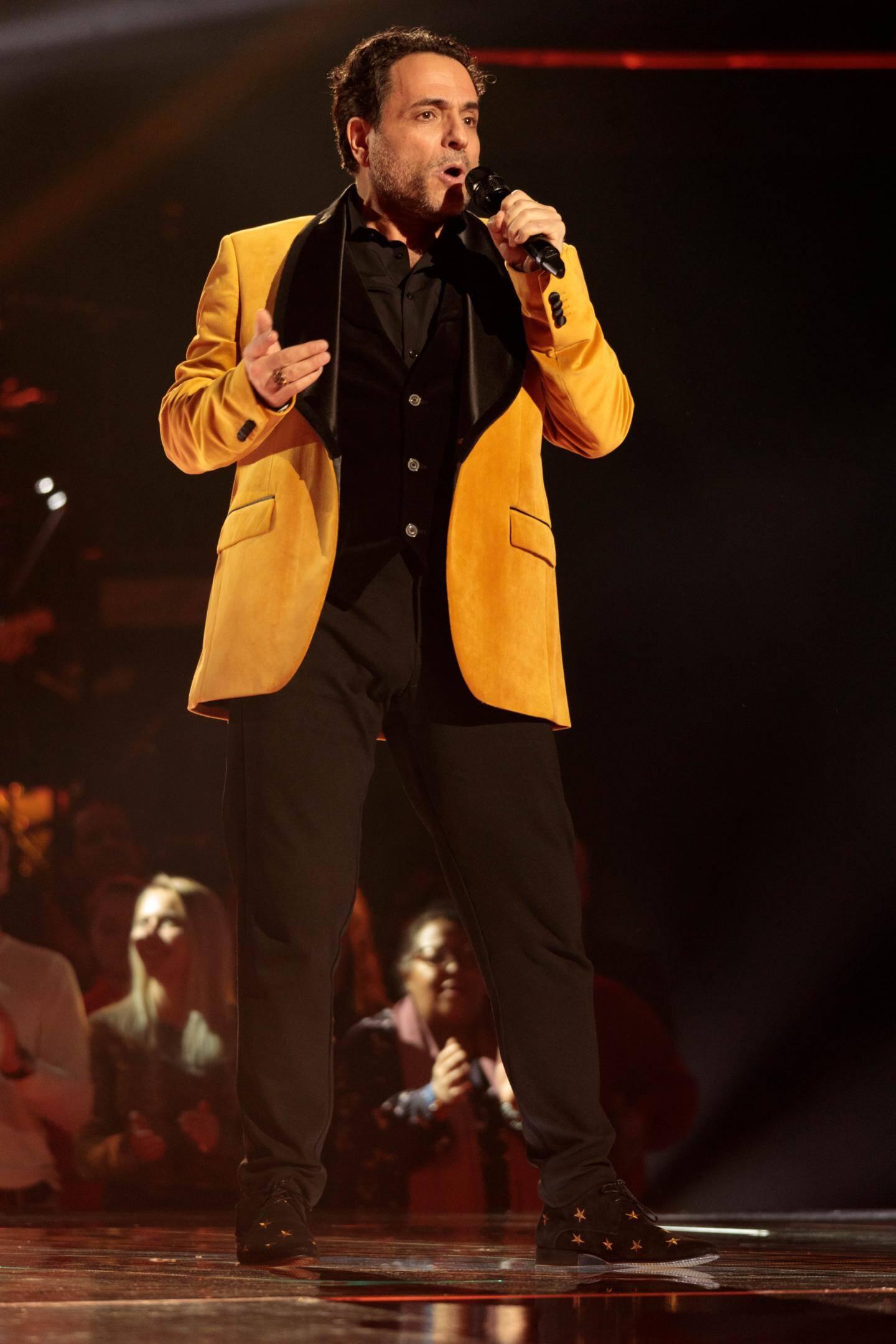 Gilles San Juan, de retour sur la scène de The Voice, ce samedi soir à partir de 21 h sur TF1.