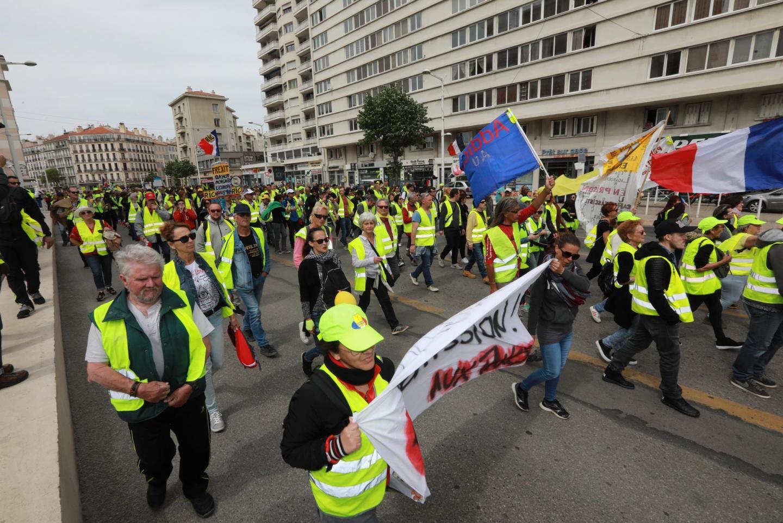 Image d'illustration d'un manifestation à Toulon.
