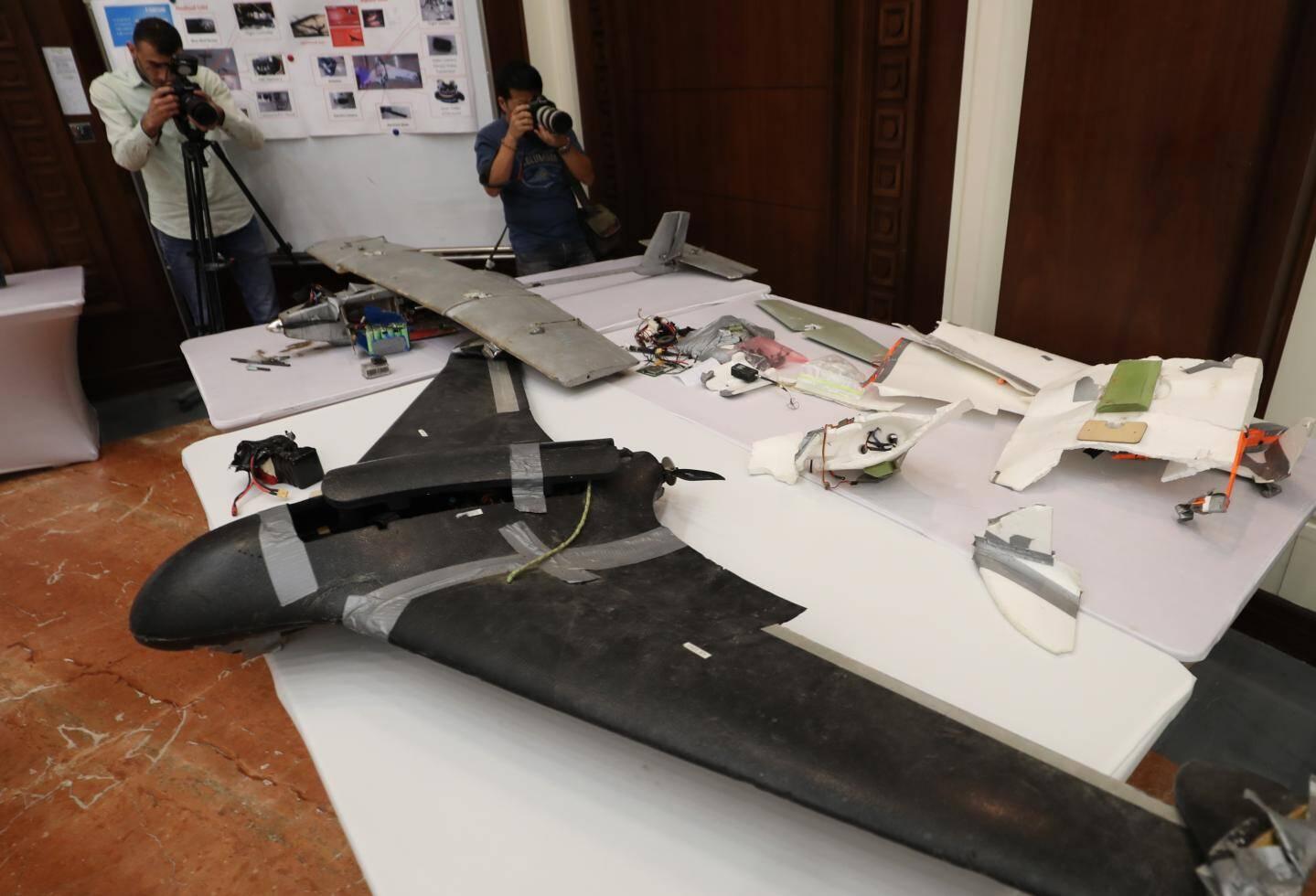 Les Emirats Arabes Unis accusent les rebelles Huthis du Yémen d'avoir utilisé ce genre de drone dans des attaques contre des installations pétrolières.