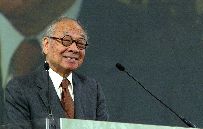 L'architecte Ieoh Ming Pei.