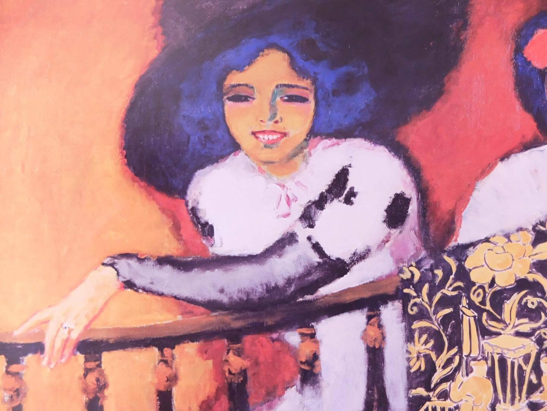 La femme à la balustrade, de Van Donghen, une des pièces majeures du musée de l'Annonciade.