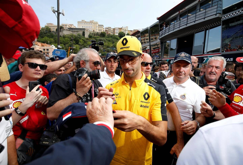 Ricciardo, le tenant du titre à Monaco.