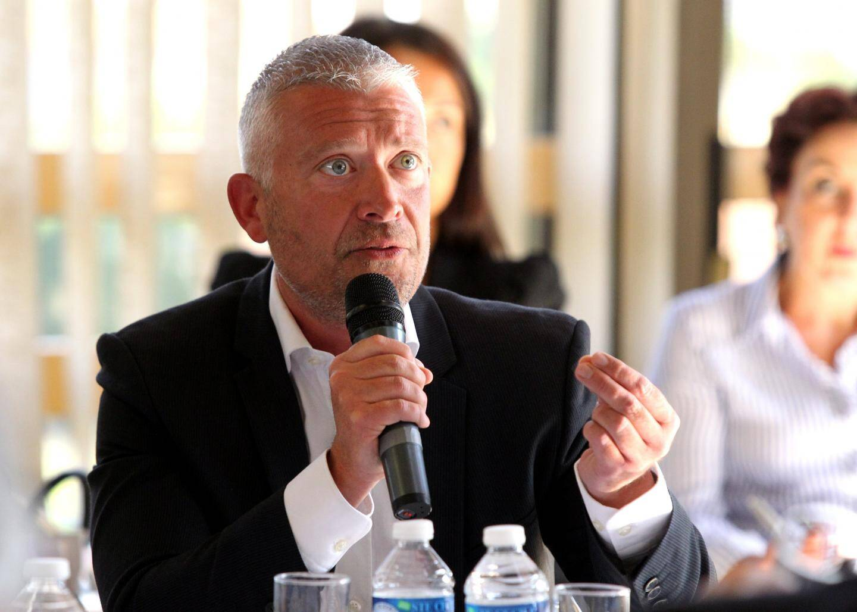 """Olivier Guérin, professeur de gériatrie, chef du pôle réhabilitation autonomie vieillissement au CHU de Nice, président de la société française de gériatrie et de gérontologie: """"ici nous avons dix ans d'avance sur la démographie, nous devons être le démonstrateur des bonnes solutions."""""""