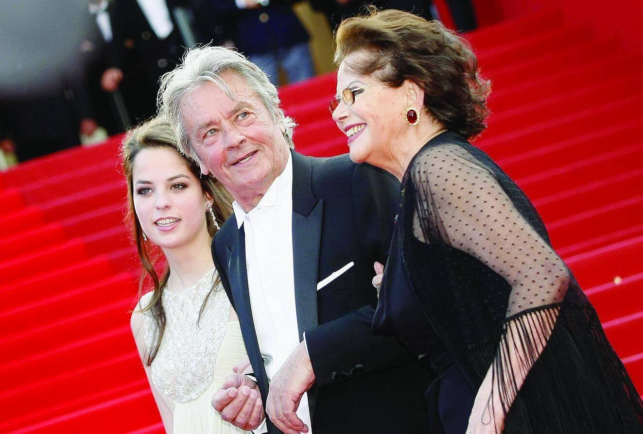 Delon sur le tapis rouge en 2013, sa fille Anouchka et Claudia Cardinale: « Les femmes m'ont tant donné… »