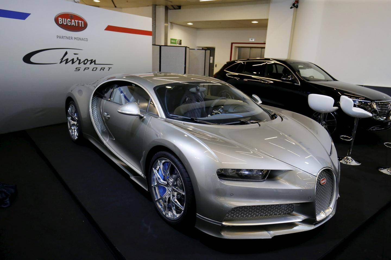 La Bugatti Chiron Sport.