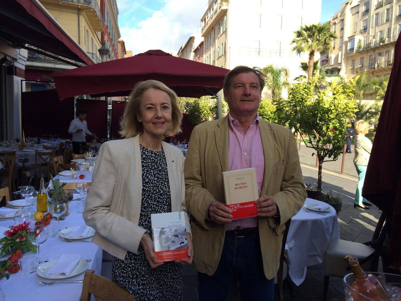 Dominique Bona et Eric Neuhoff.