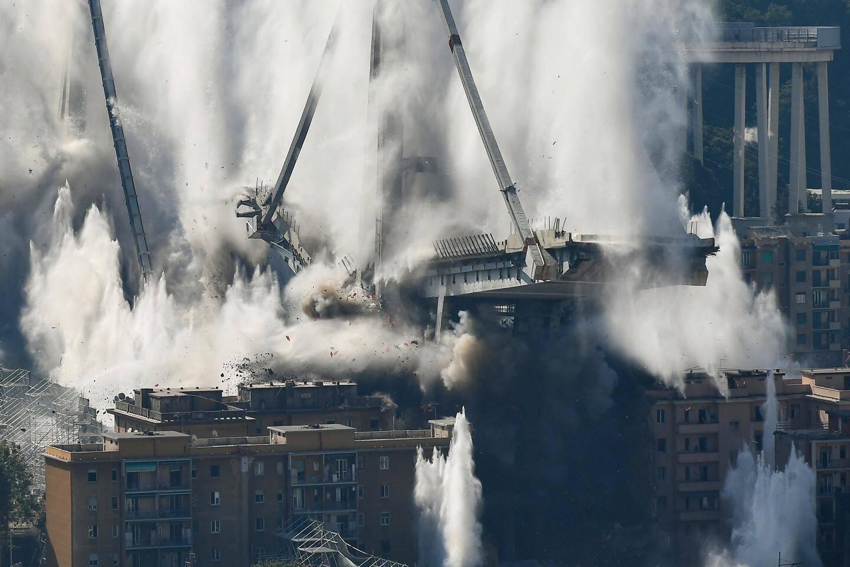 Plus de 4.500 tonnes de bétons ont été abattues.