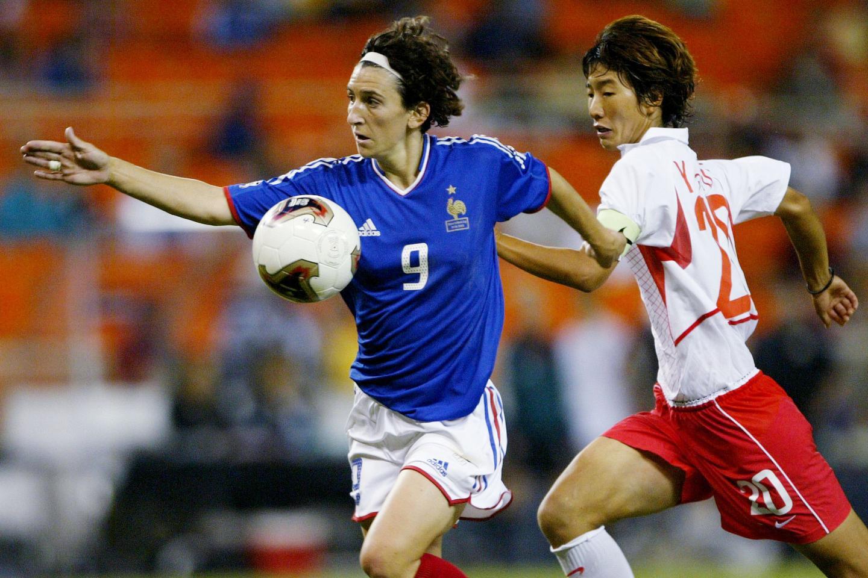 Marinette Pichon avait inscrit le premier but de l'histoire de l'équipe de France féminine en Coupe du monde, face aux Coréennes (1-0).