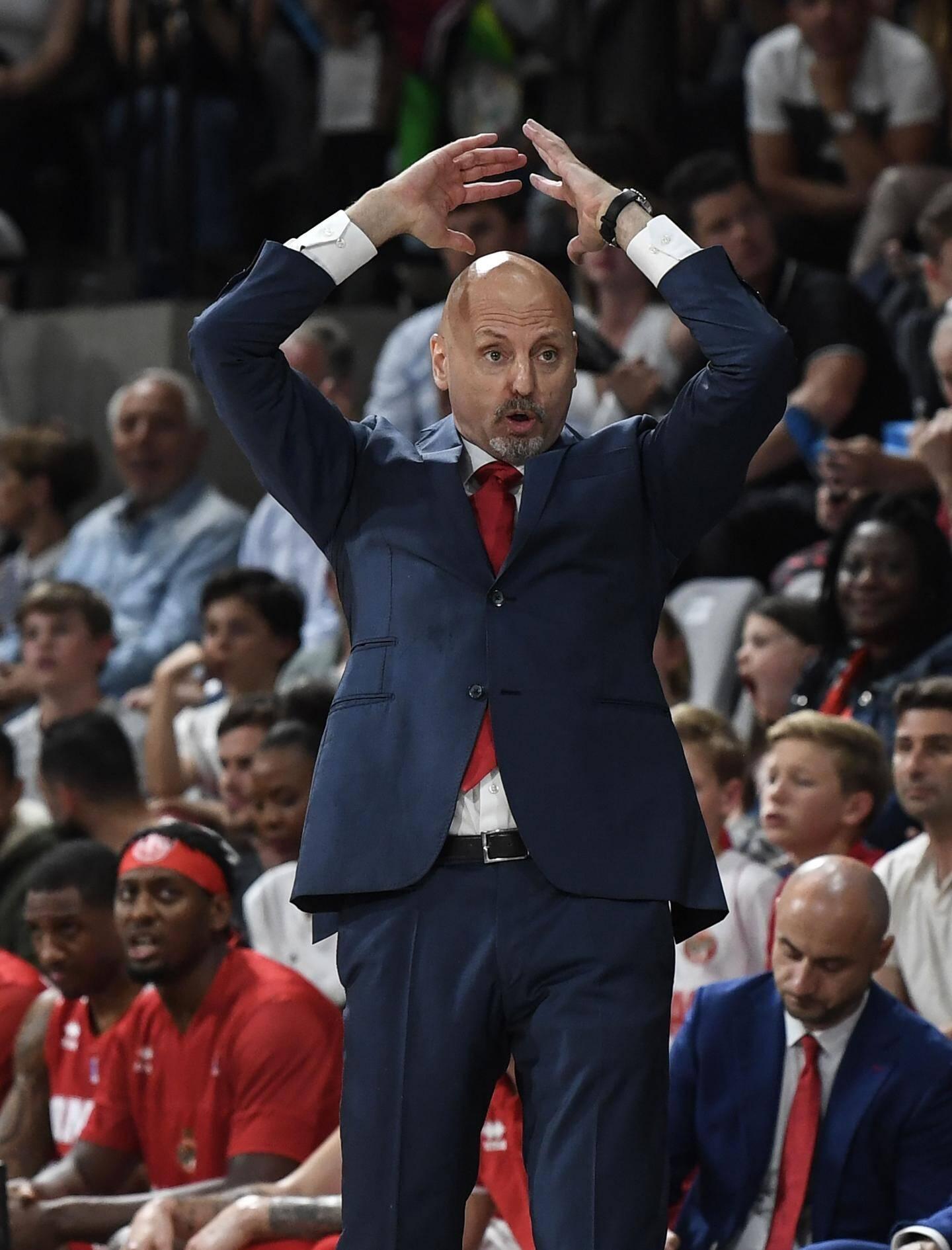 Le coach monégasque sait que ses joueurs peuvent mieux faire.