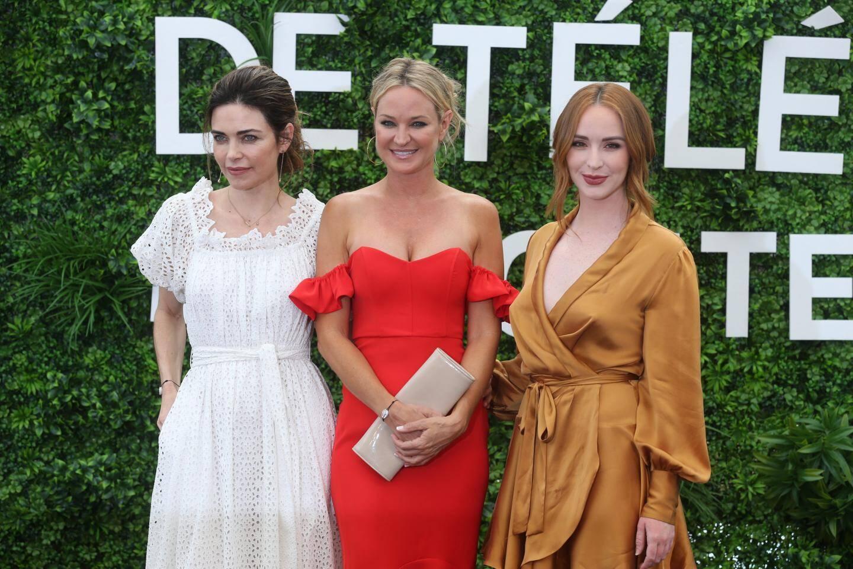 Amelia Heinle, Camryn Grimes et Sharon Case de la série Les feux de l'amour.