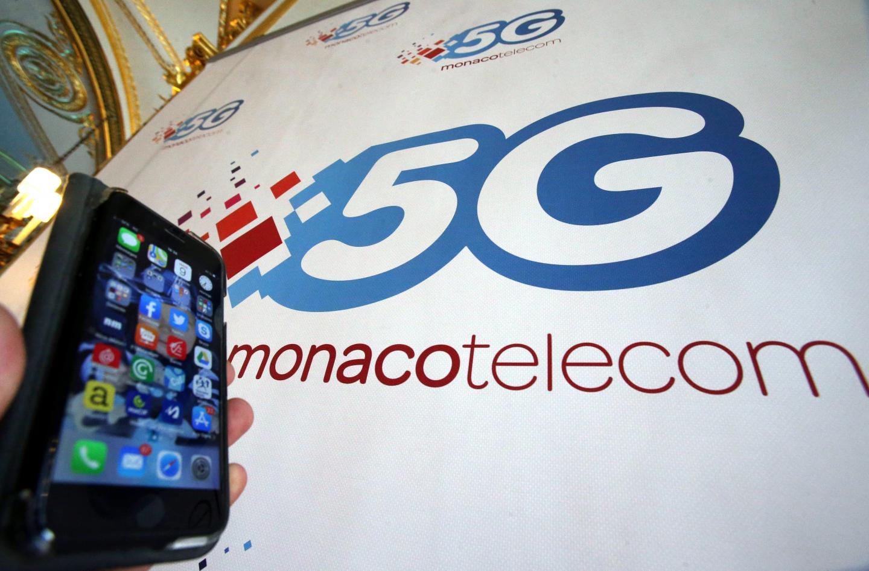 Lancement officiel de la 5G en Principauté en présence de Xavier Niel le PDG de Free et Monaco Telecom.