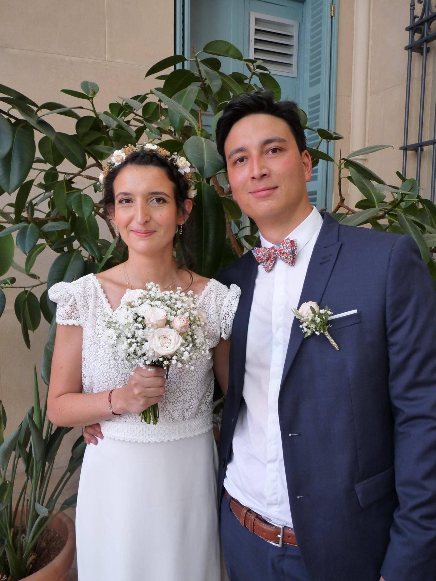 Julie Benard et Fabrice Lame, médecins.