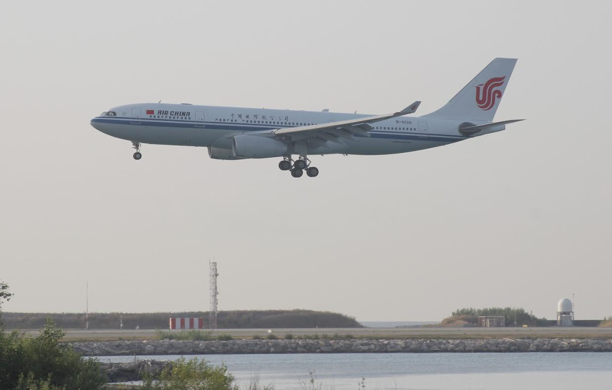 L'A330 a touché le sol peu après 8 heures.