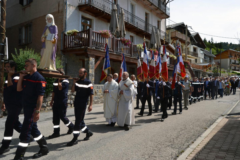 La procession de la Sainte-Anne.