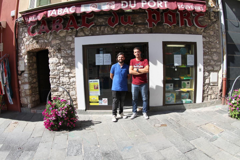 Cyril Pellegrini et Florian Rondinella veulent faire revivre la boutique. Ils ont ouvert lundi.