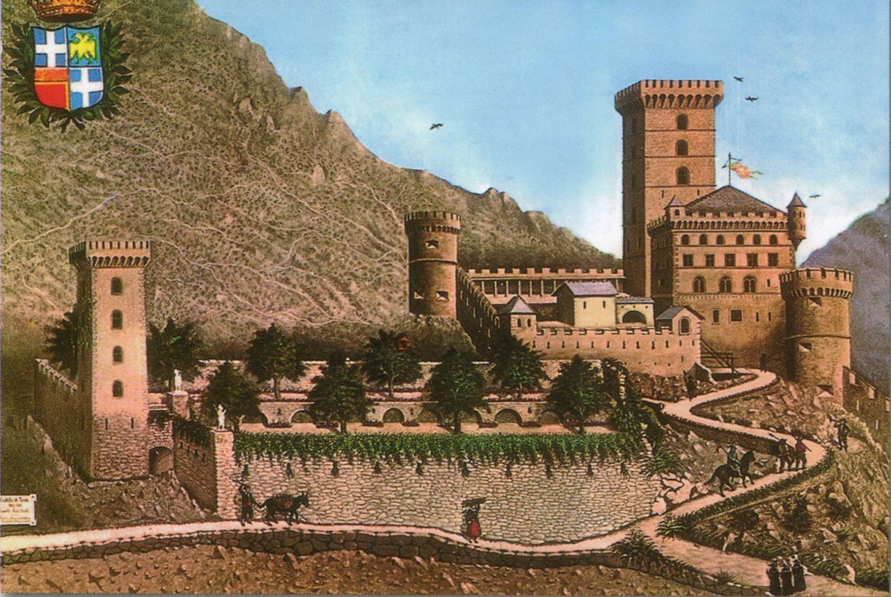 Le château de Tende qui fut détruit par Louis XIV.