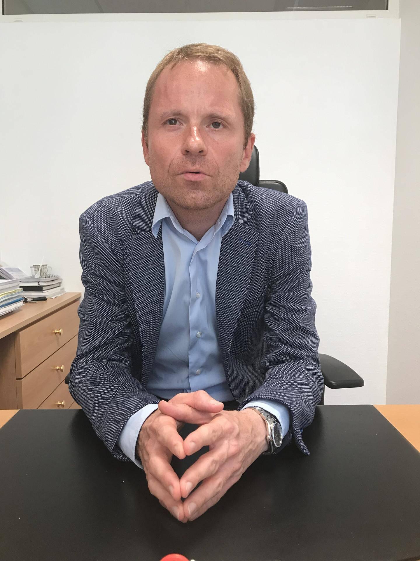 Jérôme Fougeras-Lavergnolle, président du tribunal correctionnel de Monaco.
