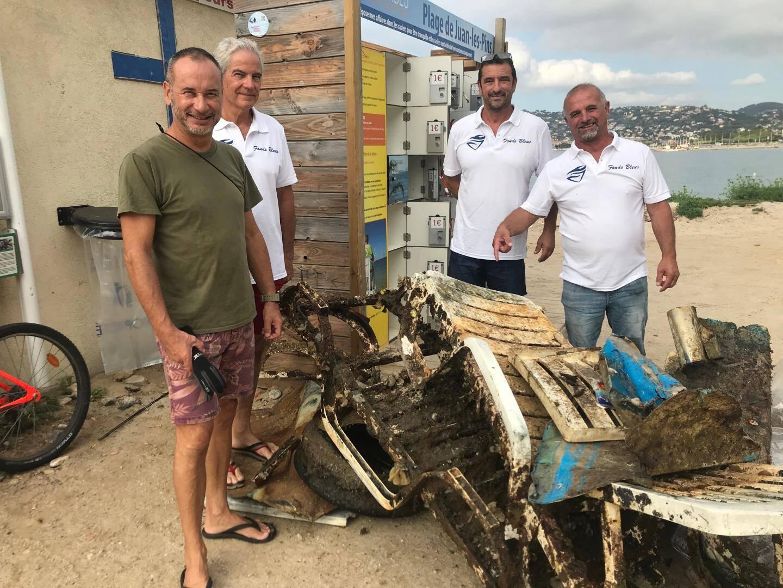 La pêche du jour des Fonds Bleus à Juan-les-Pins.