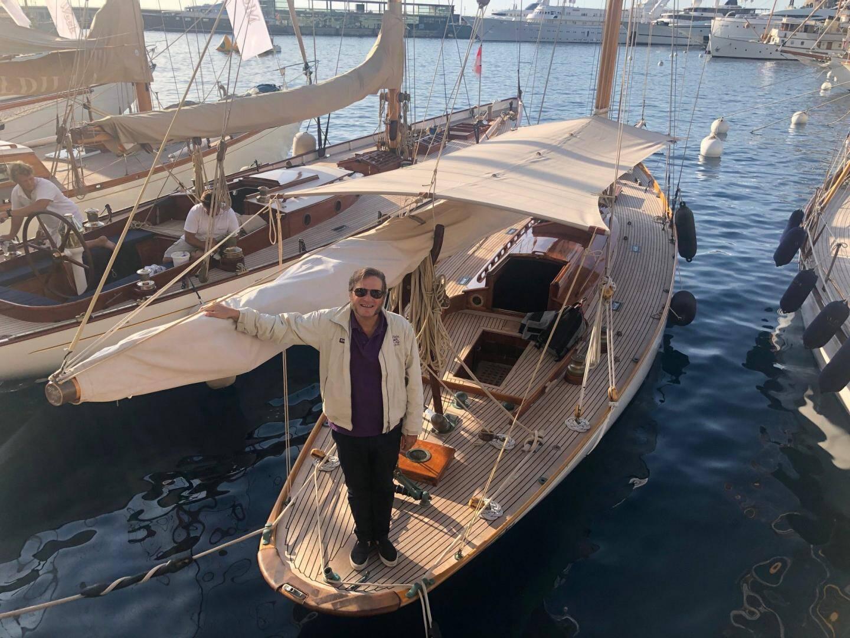 Kostia Belkin, membre du Yacht-Club de Monaco, armateur de Viola.