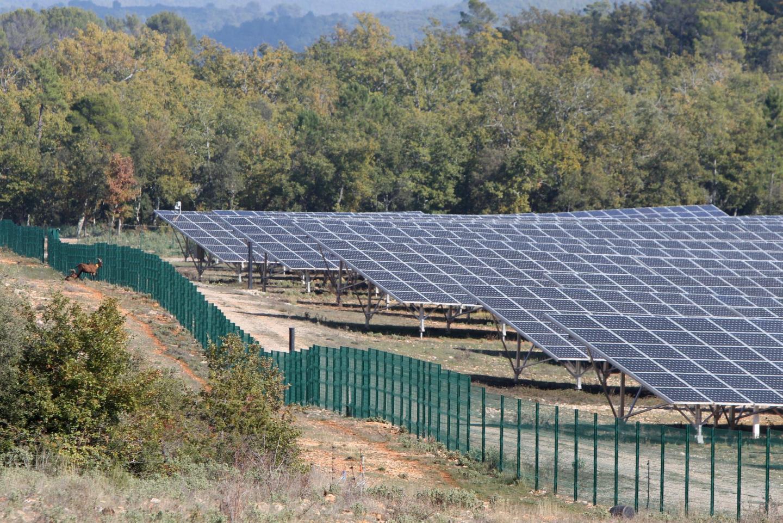 À Figanières, déjà, un parc photovoltaïque. Bientôt la même chose à Salernes ?