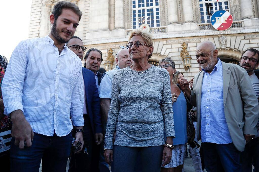 Rassemblement de soutien à Patrick Balkany devant la mairie de Levallois le 14 septembre 2019