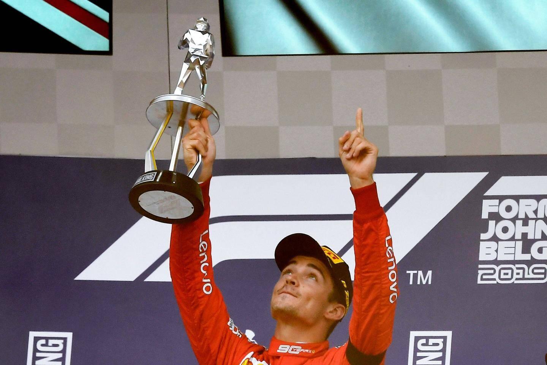 Charles Leclerc a dédié sa victoire à son père Hervé, son mentor Jules Bianchi, et son ami Anthoine Hubert.